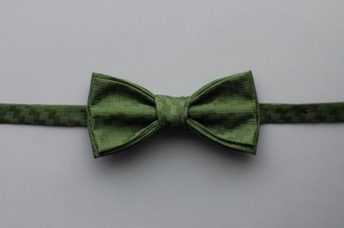 """GLOSOLIⒸ žalios spalvos šilkinė peteliškė-varlytė """"Ambitions"""""""
